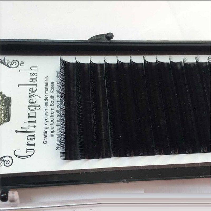 30boxes Wholesale 8-14mm Premium 3D Silk Eyelash Extensions Individual False Mink Lashes C Curl Professional Makeup Tools