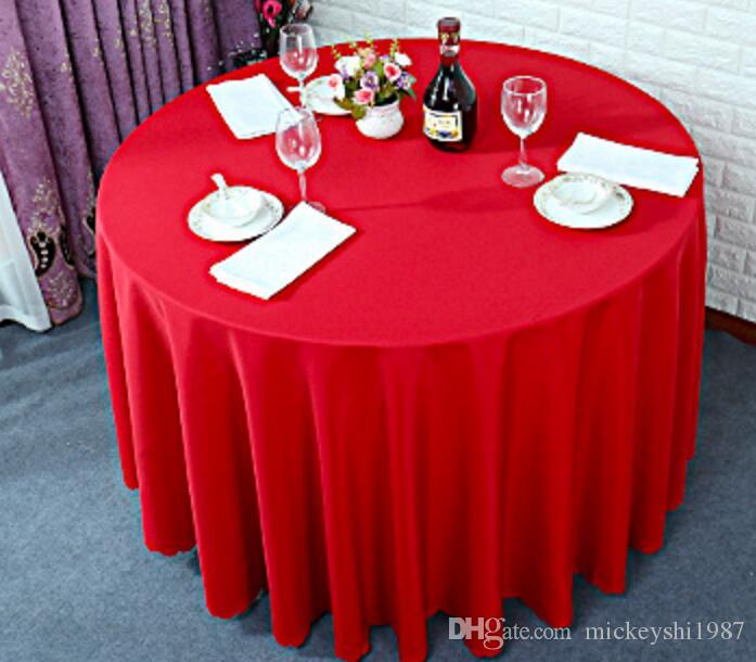 Large Round Table Cloth.Home Tablecloth Wedding Banquet Hotel Tablecloth Large Round Table Cloth Restaurant Round Table Cloth Home Dining Room Supplies