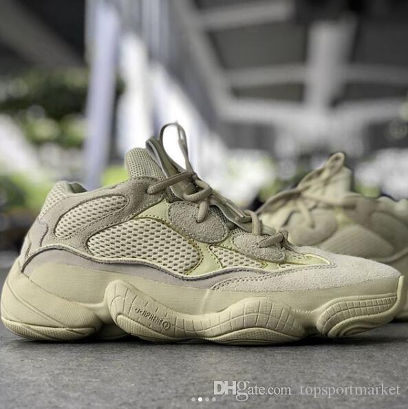 e6f35a5a1e8 Cheap adidas Yeezy 500 Desert Rat Super Moon Yellow DB2966 For Sale