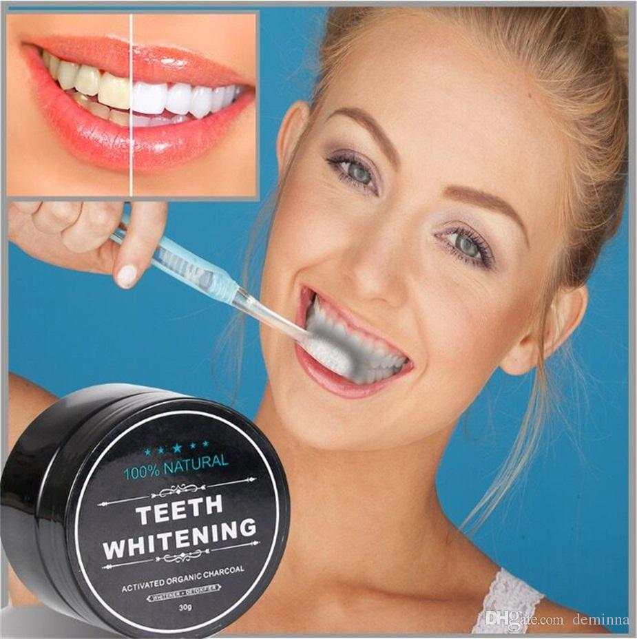 2018 Hot Newest All Natural And Organic Activated Charcoal Teeth