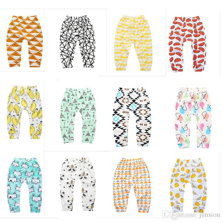 de905577694b0 2019 Ins Baby Clothes Baby Girlls PP Pants Leggings Children Lovely Fox  Pants Bottoming 2018 Newest Clothes Boys Lemon Leggings Fast Shipping From  Junsion, ...