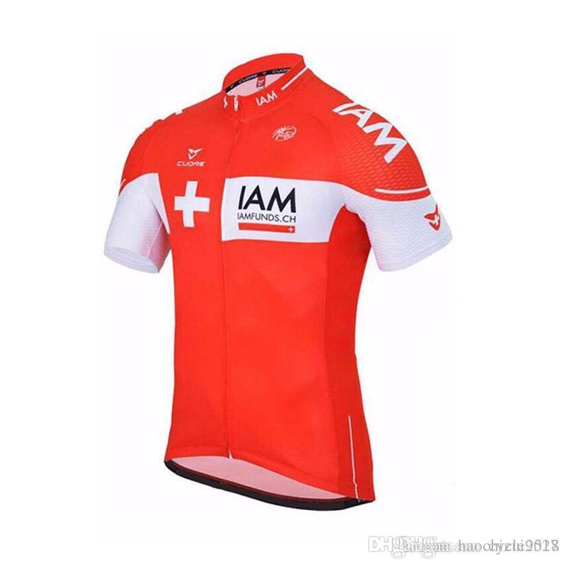 IAM New Cycling Jersey Short Sleeve Shirt Mtb Bike Maillot Ropa ... 7c973552e