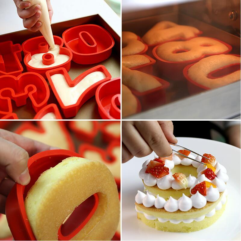 2019 10 Inch 0 9 Silicone Digital Cake Mold Numbers Shape Decoration Tool For Wedding Birthday Anniversary From Gor2don 2892
