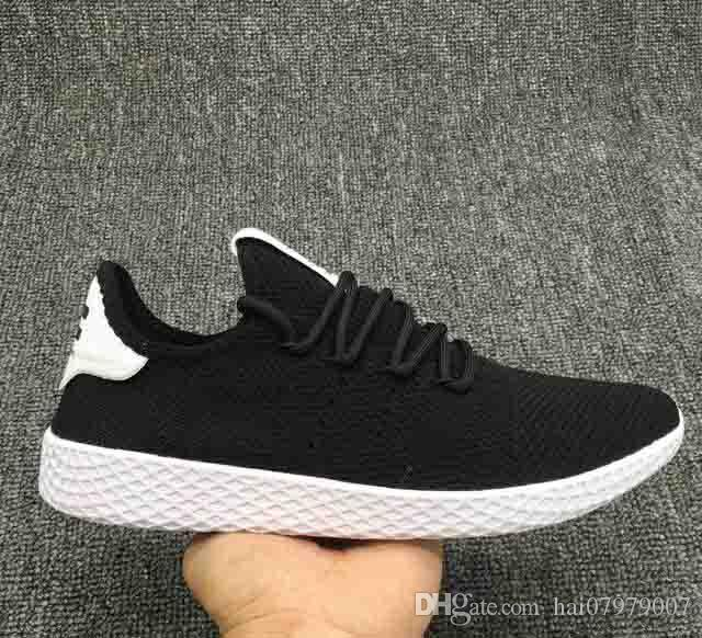 ffef6d66344ca 2018 Pharrell Williams And Stan Smith Team Up To Unveil A 2018 New  Originals Tennis HU 3D Run Shoes Women Men PW Sports Casual Shoes  Orthopedic Shoes Womens ...