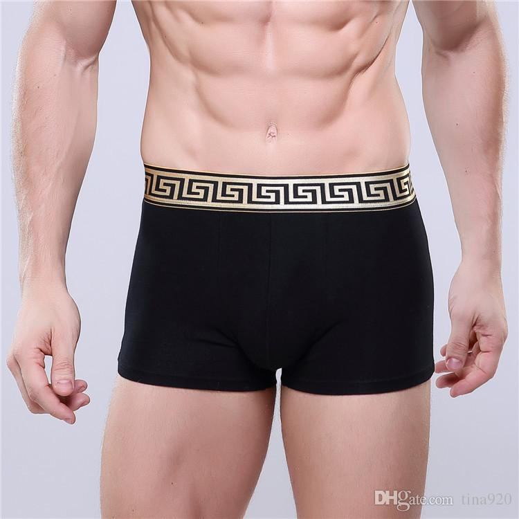 33f57c3f13d 2019 Top Sell High Quality Sexy Cotton Men Boxers Breathable Mens Underwear  Branded Boxers Logo Underwear Male Boxer From Tina920