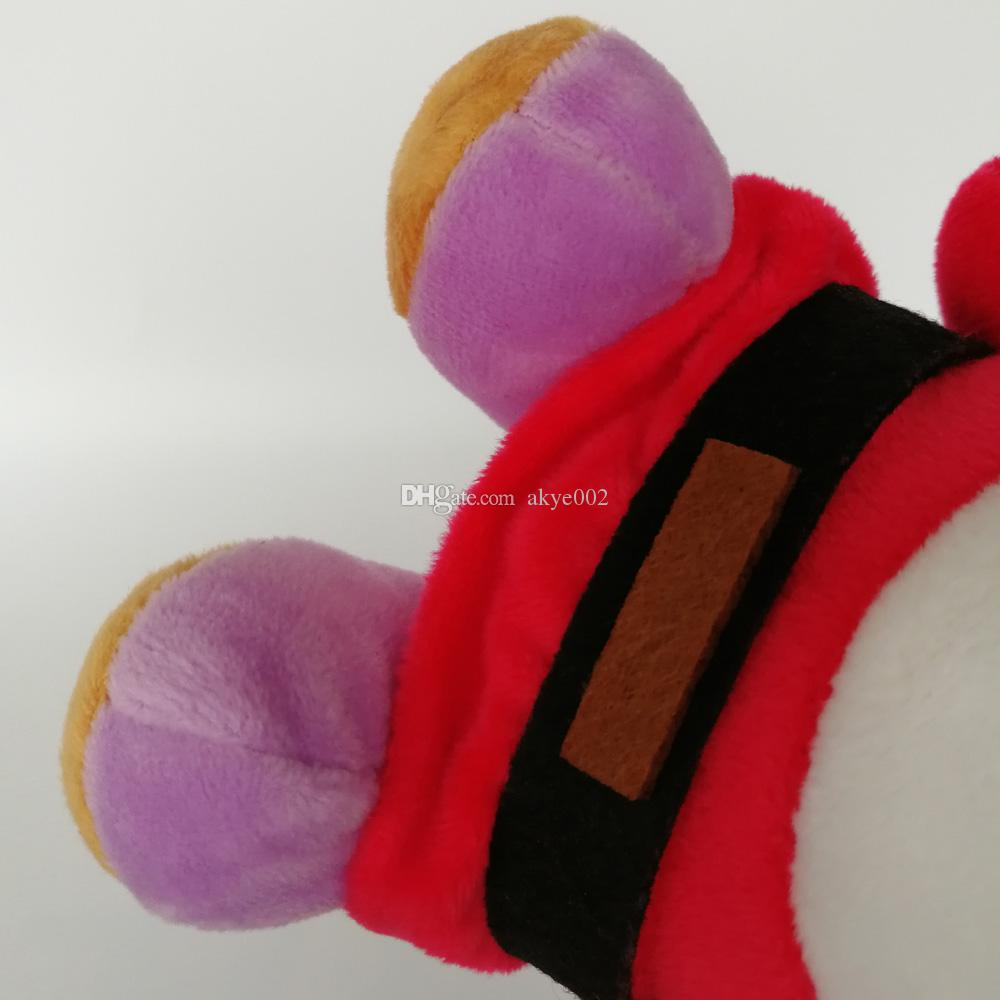Hot Sale 16cm Shy Guy Super Mario Bros Plush Stuffed Doll Toy For Kids Best Holiday Gifts Wholesale