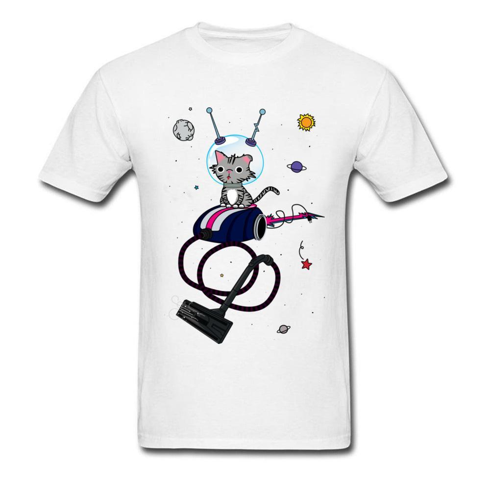 bee470d858 Funny Cat T Shirts Men Mr. Hoover Space Anime Cat T Shirt 3d Tee Shirts  Organic Cotton Fashion Band Tops / Tees Summer T Shirts Designs Online T  Shirt ...