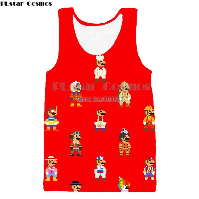 5789282dc18c Acheter Plstar Cosmos Cartoon Style Super Mario Hommes Femmes 3d Gilet  Style Drôle Gilets Drop Shipping De  33.19 Du Dindanone   Dhgate.Com
