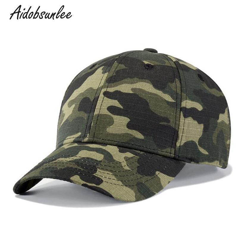 efbf806139b 2018 New Arrival Baseball Cap Women s Army Hat Cotton Camouflage Jungle  Camo Snapback Caps Male Bone Men s Hat Unisex Flat Cap Trucker Hats From  Junemay
