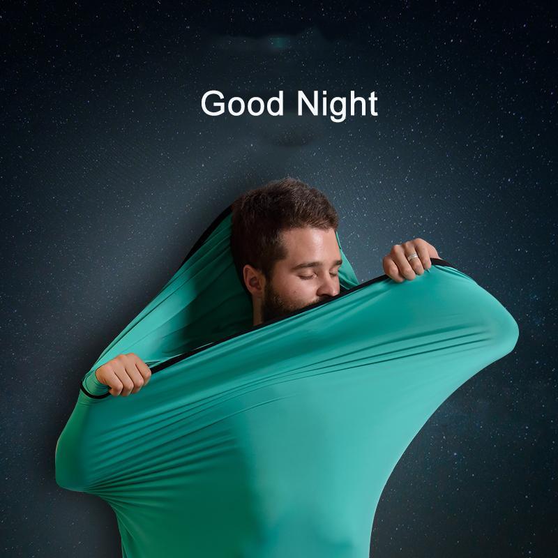 Naturehike New Mummy Style Sleeping Bag Linner High Elastic Fiber Softable Portable Sleeping Bags For Spring Autumn Outdoor Sleeping Bags