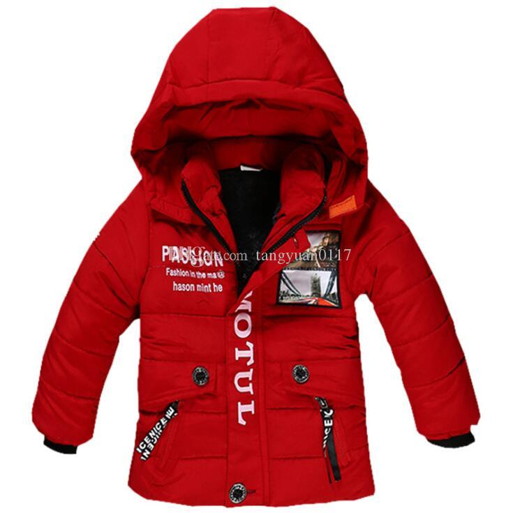 3f28521b2 Baby Boys Jackets 2018 Autumn Winter Jacket For Boys Coat Kids Warm ...
