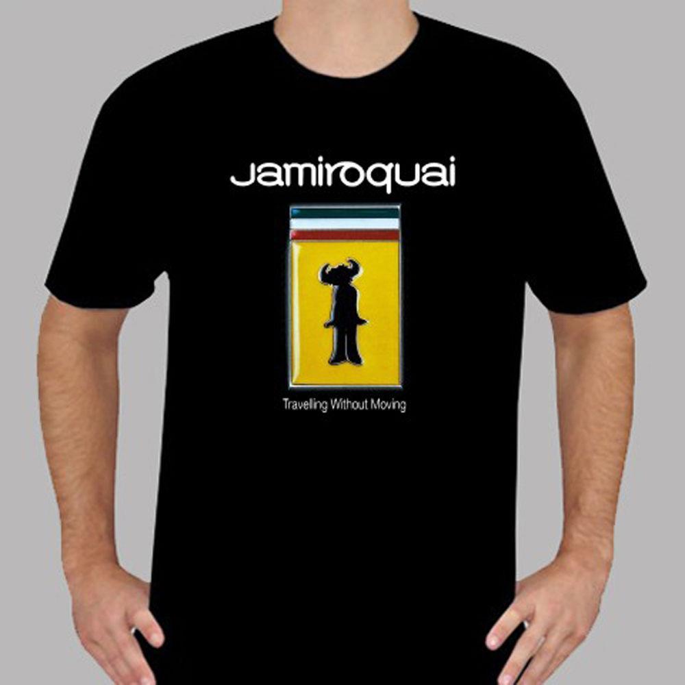 a0ee982c2735f New Jamiroquai Jay Kay Soul Funk Singer Men s Black T-Shirt Size S To 3XL  Print T Shirt Harajuku Short Sleeve Men Top