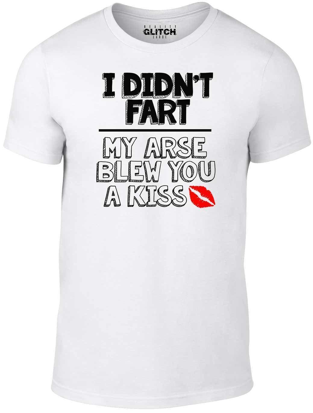 919047769 Mens I Didn't Fart T-Shirt - Funny slogan rude offensive father's day Xmas  gift