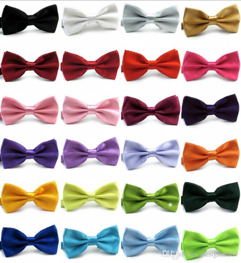 Mode solide Bowties Marié Hommes Coloré Plaid Cravat gravata Mariage Mâle Mariage Papillon Noeuds papillon affaires noeud papillon couleurs mélangées