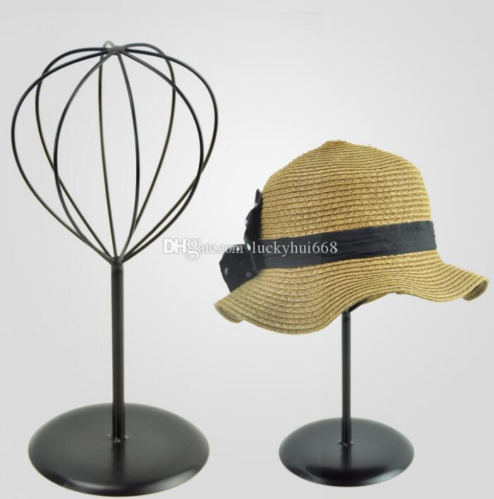 2018 Hot Sale Hat Storage Rack Metal Peak Cap Display Stand Straw Hat  Sunhat Shelf Holder Wig Rack For Boutique Display Props From Luckyhui668,  ...