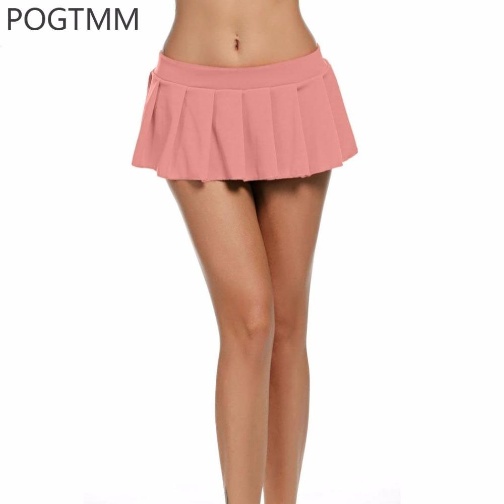 73aec770f9 Summer Sexy Micro Mini Schoolgirl Skirt Women Cosplay School Girl Pleated  Skirt Plus Size Lingerie Erotic Hot Sex Costume Blue Y1892909 Sexy  Underwears ...