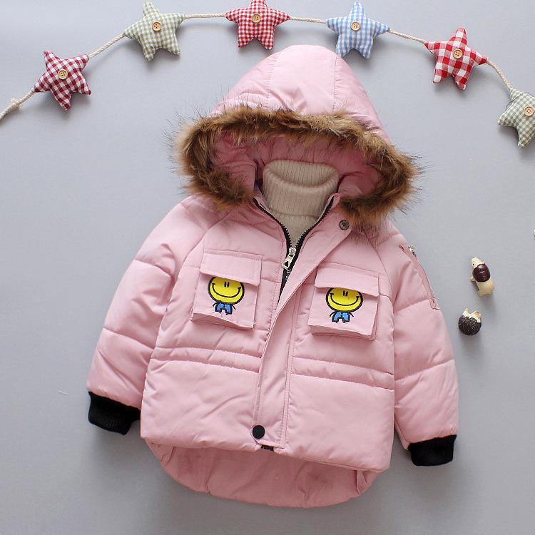 6f757a1c0 Baby Boy Clothes 2018 Winter Super Warm Zipper Hooded Coat Cartoon ...