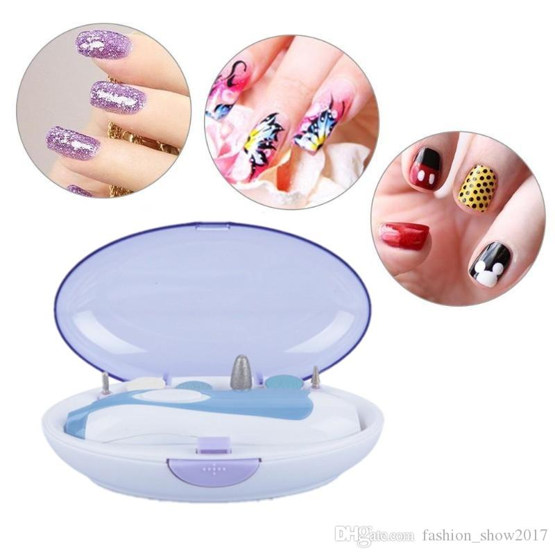 Portable Electric Nails Drill Trimming Nail Art Drill Manicure ...