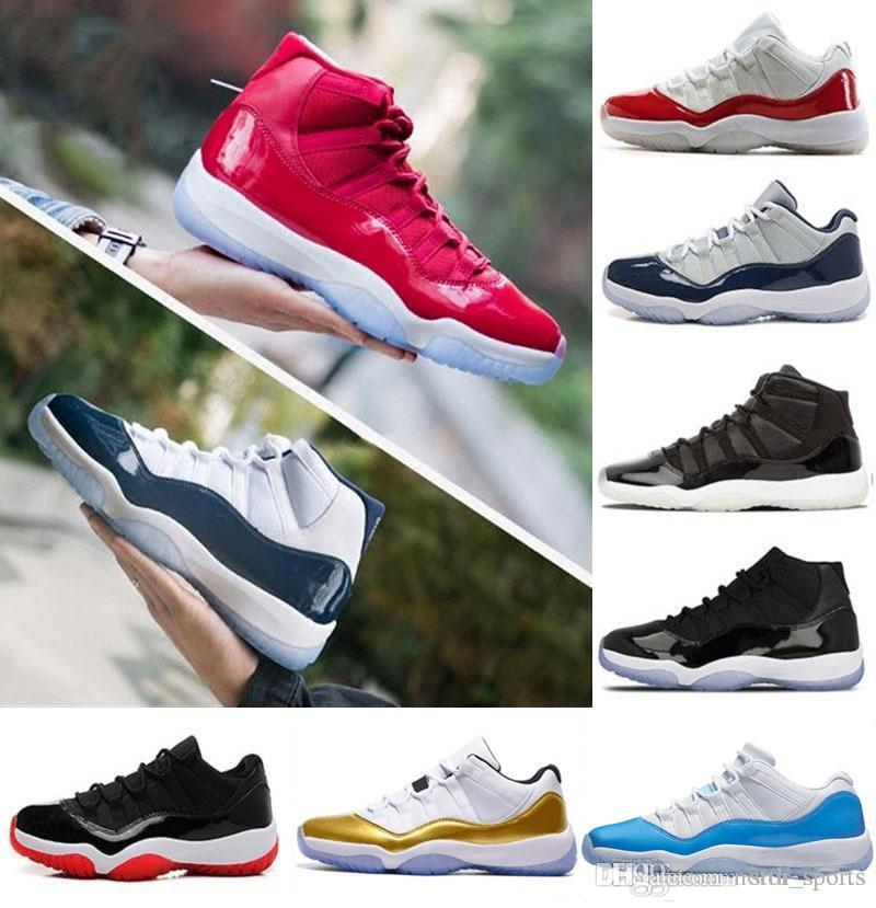 029216a8cf6 Cheap 2018 Basketball Shoe 11 11s Concord Gym Red Chicago Midnight ...