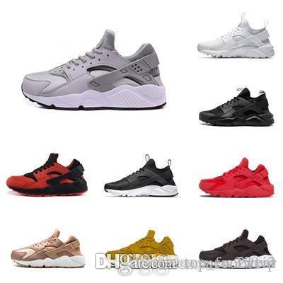 b8827477f750 2019 Hot Huarache 1.0 4.0 Shoes For Men Women Black Red White Rose Gold Trainers  Huaraches Trainers Sneaker Size 36-45 Huarache 1.0 4.0 Shoes For Men Women  ...