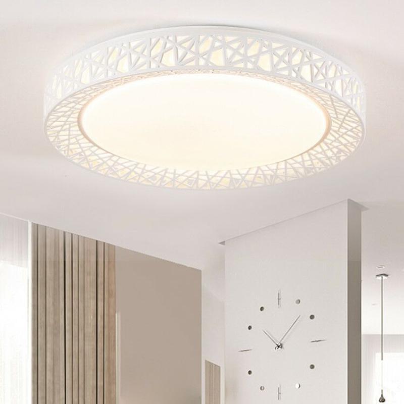 Großhandel LED Deckenleuchte Vogelnest Runde Lampe Moderne Leuchten ...