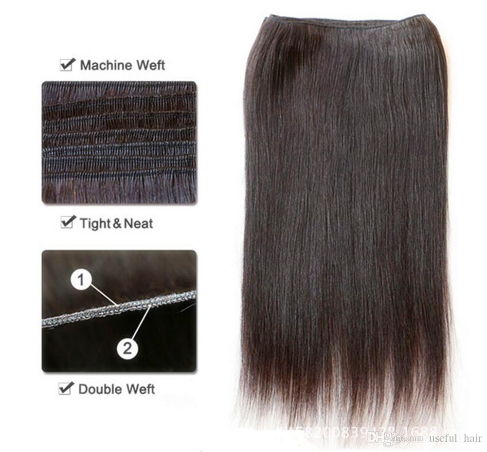 Malaysian Virgin Hair wefts straight Unprocessed cheap Wave human kinky Curly Weft marley Peruvian hair sew in hair extensions 2020 bob