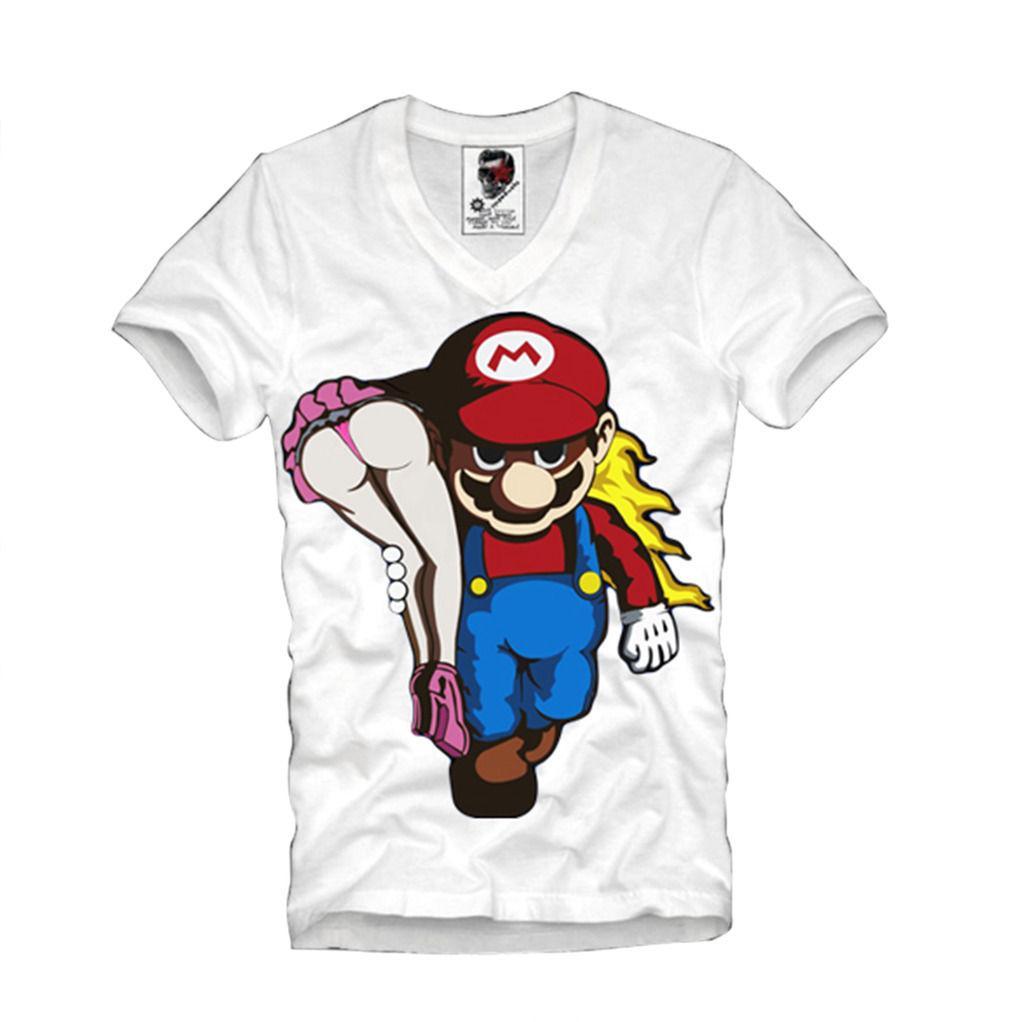 318719babf E1SYNDICATE V NECK T SHIRT BOYS NIGHT OUT PIN UP PARTY MUSHROOM 2079v Shirt  Site Printing Of T Shirt From Bikeshirt