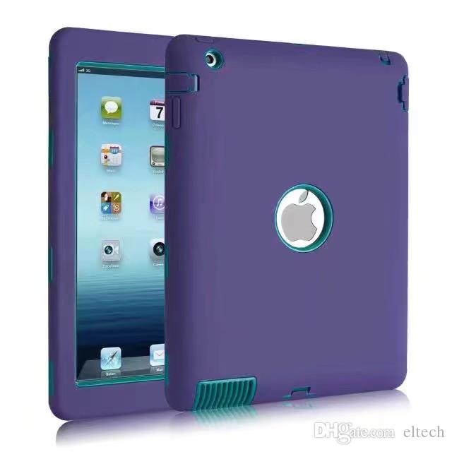 """2017 New Kids Safe Case For Apple iPad pro 9.7"""" Tablet PC Armor Shockproof Heavy Duty Silicone Hard Cover"""