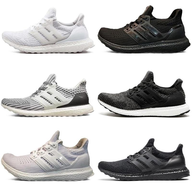 66a0dbd67f198 Ultra 4.0 3.0 Core Triple Black White Primeknit Runner Fashion Ultra  Running Sneaker Sports Shoes for Men Women Ultra Running Shoes Ultra Sports  Sneaker ...