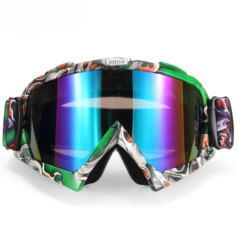 3bf90436116f Protective Gears Glasses ATV Motorcycle Motocross Goggles Off Road Dirt Bike  Racing Eyewear Oculos Universal Face Mask Sunglasses Biker Sunglasses For  Bike ...