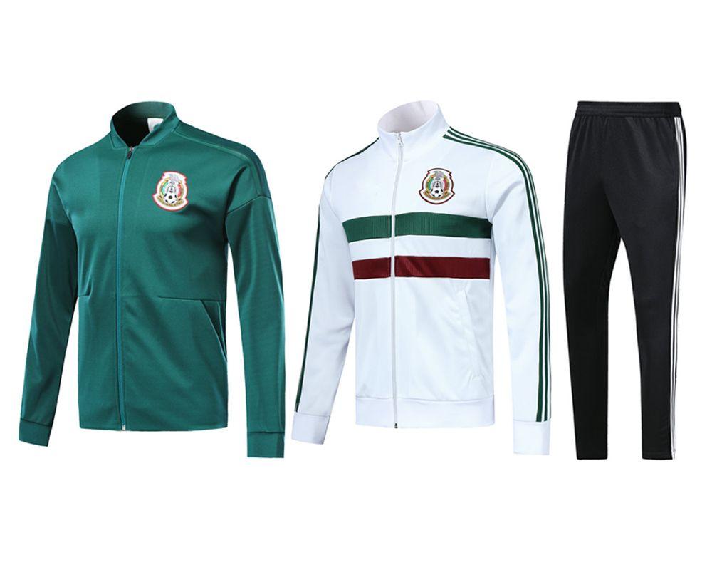 55dafcdd4f1 2019 Mexico Training Uniform Jersey 2018 19 World Cup National Team  Football Wear Long Sleeve Jacket Appearance Pants SANTOS A.GUARDADO Set  From Iayao8866