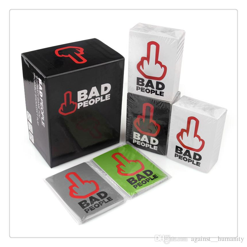 New Bad People Card Game Party Game You Probably Shouldn't Play Find out what your friends really think about you in this hilarious