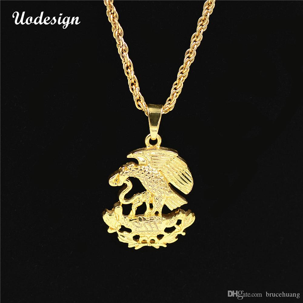Wholesale uodesign high quality eagleowl snake pendants necklace wholesale uodesign high quality eagleowl snake pendants necklace fashion hip hop rock accessories chain men jewelry lockets fashion jewelry from brucehuang aloadofball Choice Image