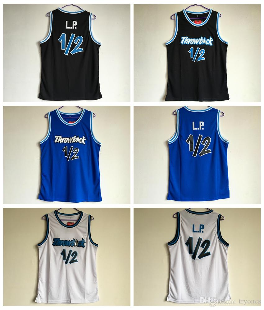 outlet store d0500 d7baf Mens Anfernee Penny Hardaway Lil Penny 1/2 Basketball Jersey LP Cheap #1/2  L.P. Stitched Basketball Shirts