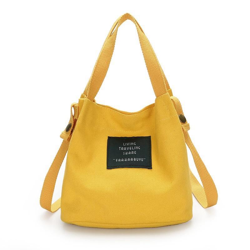 e50148b197 HEBA Fashion Women S Canvas Handbag Shoulder Bag Tote Purse Cute ...