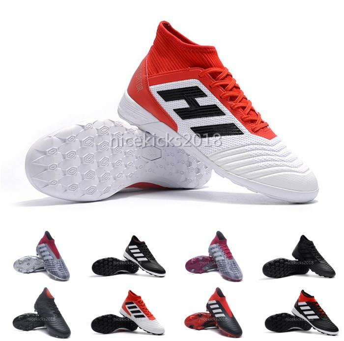 2018 V SX Neymar soccer Shoes Predator 18+x Pogba FG Accelerator DB Kids Men Mercurial Superfly FG football Cleats Real Madrid buy cheap real Inexpensive for sale 4Lwud7Z0
