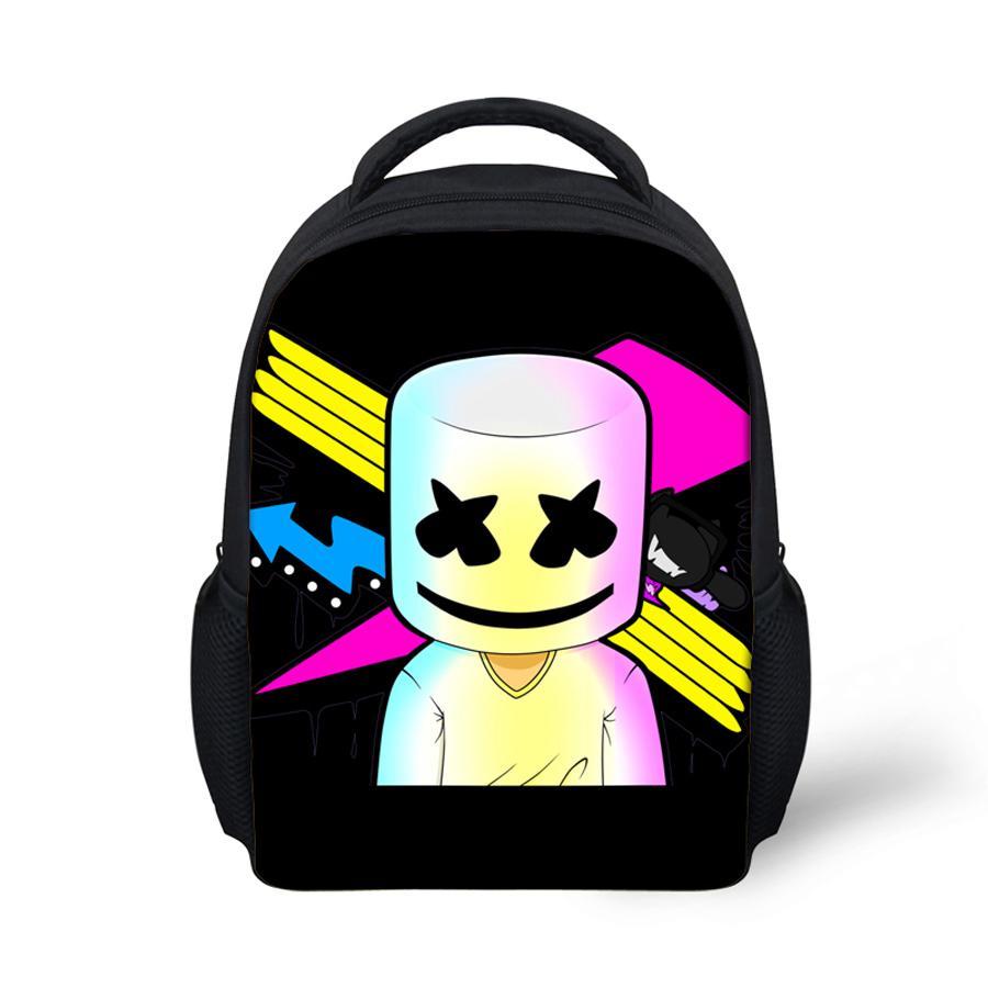 marshmello à sac enfants bagpack à bandoulière dos dos petit sac style douce maternelle pouces de filles 12 à bébé sac nqgzY4xt