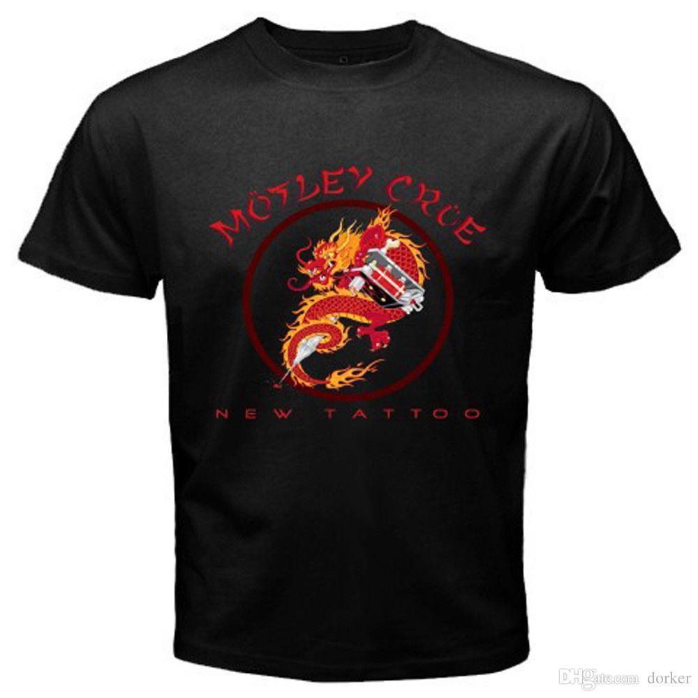 017aeb161 Tee-shirt pas cher New Motley Crue T-shirt à manches courtes pour hommes