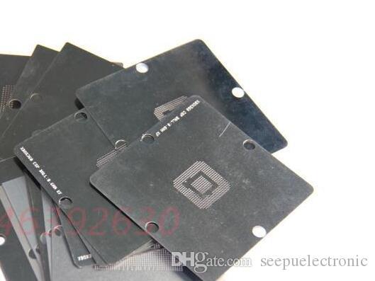 37 ADET 90mm x 90mm Reball Reballing Şablon Şablon Için XBOX 360 WII SONY PS3 PS4 Oyunu CPU Çip Onarım İşleri