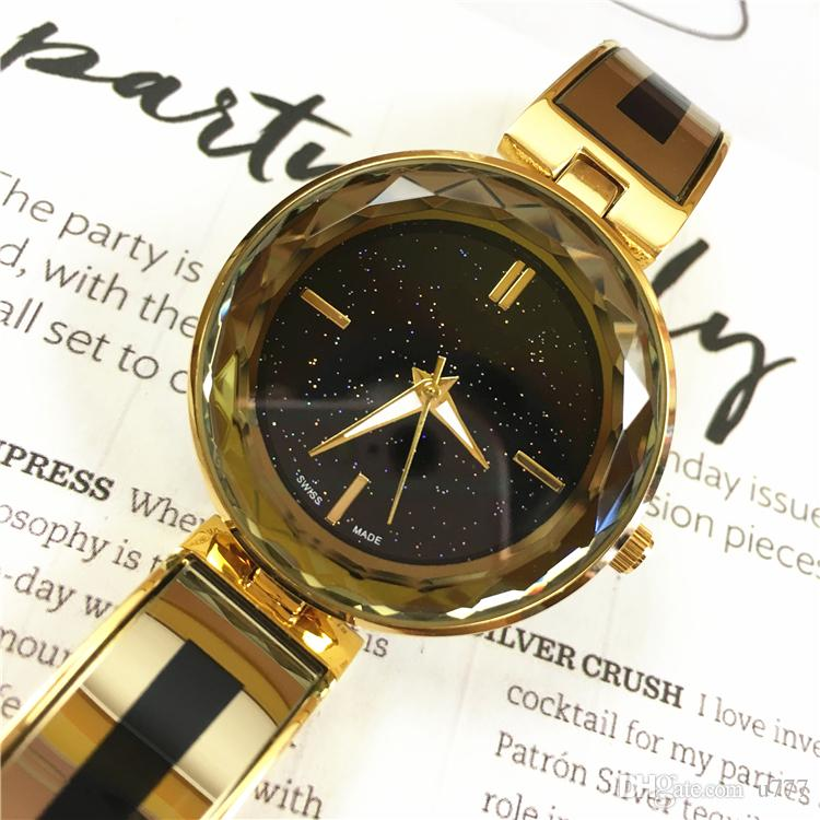 a408f982a9da3 2018 Top Fashion Brand Watch Bracelet Women Sexy Gold Wristwatch Lady Party  Watches Hot Sale Popular Special Design Dial Buy A Watch Online Watch  Shopping ...