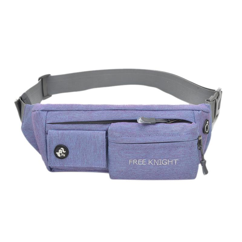 8421a8ee4033 Free Knight Running Waist Bag Unisex Waterproof Cycling Belt Chest Pouch  Sports Fitness Hiking Camping Fanny Pack Bum Phon