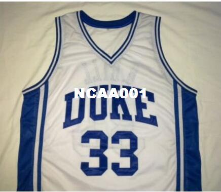 a1c26e5dfcd 2019 Men GRANT HILL #33 DUKE Blue Devils BLUE White College Jersey Size S  4XL Or Custom Any Name Or Number Jersey From Ncaa001, $16.45 | DHgate.Com