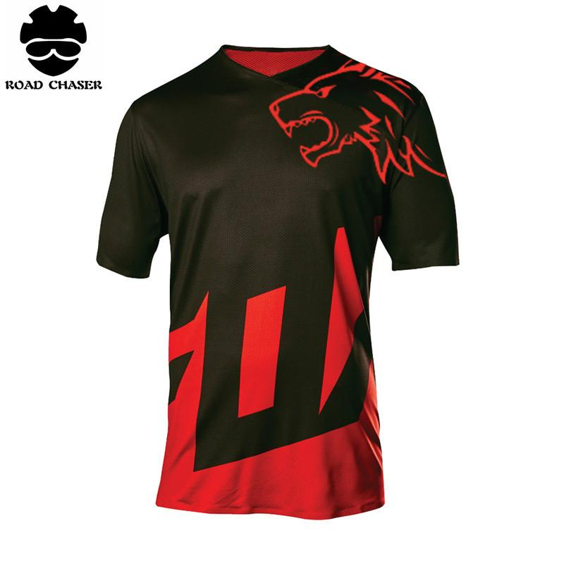 e1b4dae6605 2018 New Wolf Head Design Motocross Jerseys Off Road MTB ARMT Sportwear Bicycle  Cycling Clothes Motocross Jerseys Bicycle Cycling Clothes MTB Jerseys  Online ...