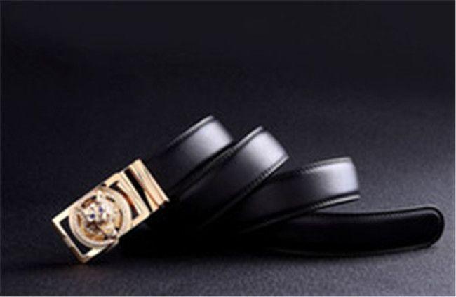 2018 Новый известный deusigner ремни мужчины высокое качество ремень из натуральной кожи ремень 125 см повседневная талия ремень черный ковбои джинсы
