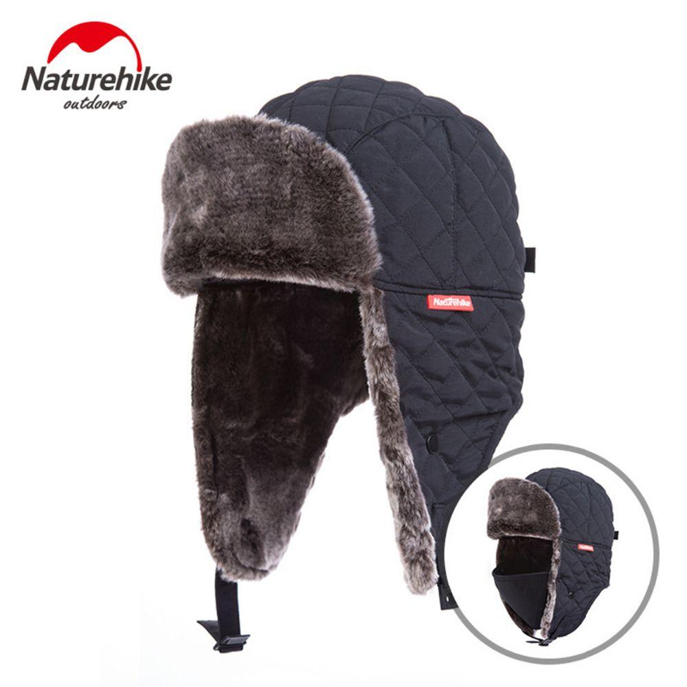 Acquista Naturehike Outdoor Hiking Hat Antivento Invernale Termico Sci  Cappelli Lei Feng Escursionismo Tappi Russi Regolabile Arrampicata Hat  Unisex A ... 9eec41d9ac9b