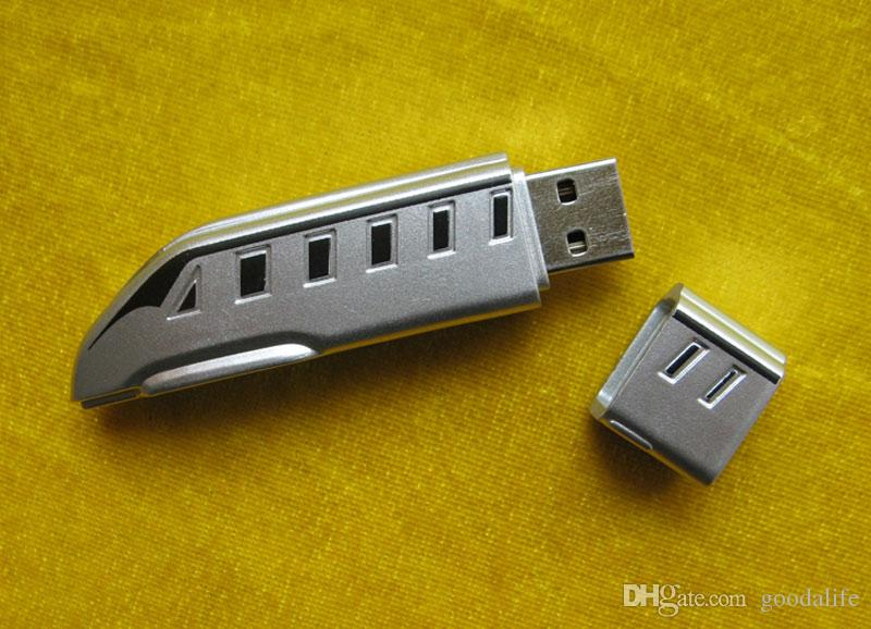 16GB 32GB ABS Locomotive Capacity Enough U Disk USB3.0 Flash Disk Plastic Train USB Flash Drives