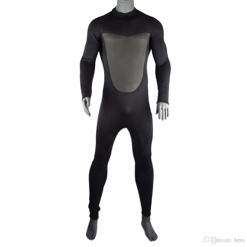 2019 Rash Guards Jumpsuit 3MM Neoprene Scuba Dive Wetsuit For Men  Spearfishing Wet Suit Surf Diving Equipment Spear Fishing Swim From Heto 1fa643bde