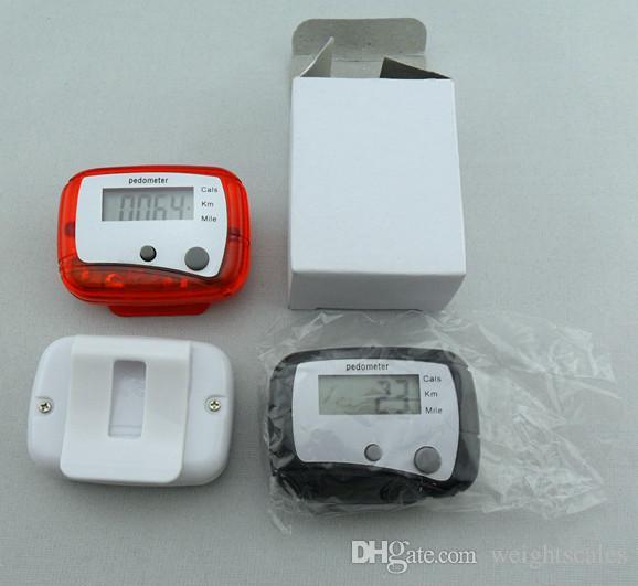 متعددة الوظائف الجيب LCD مقياس الخطو مصغرة خطوة عداد وظيفة واحدة عداد الخطى LCD المشي الرقمية عدادات LCD مع الحزمة