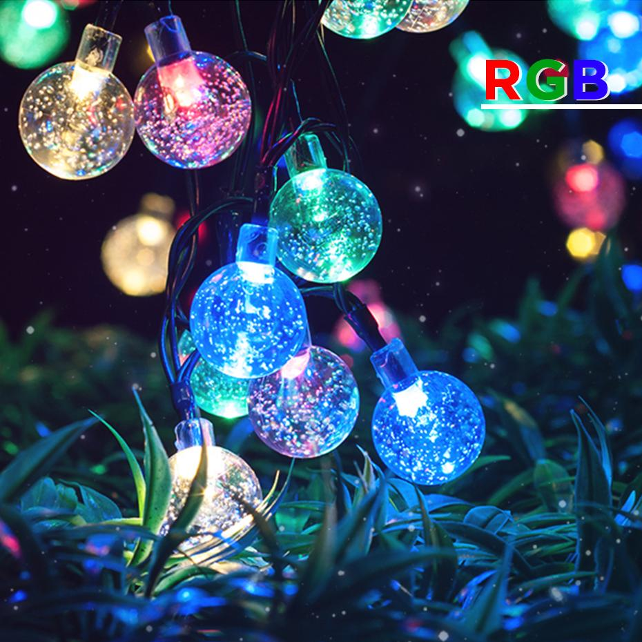 Christmas Lights Outdoor Halloween Lights Navidad Luces Solar Led Christmas Decorations For Home Led String Outdoor