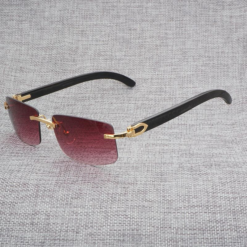 255b826f0e Vintage Men Sunglasses Women Wood Eyeglasses Square Gafas for ...